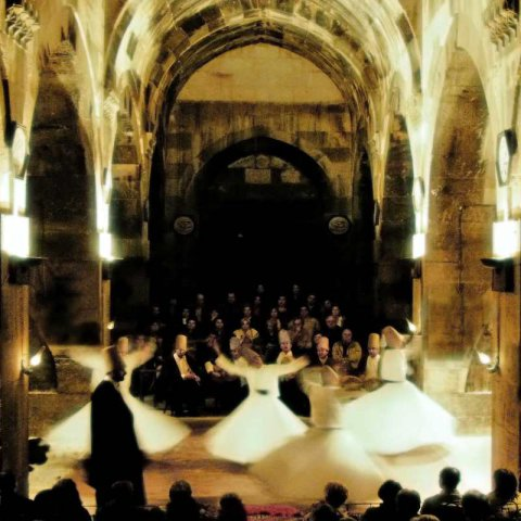 whirling dervishes saruhan